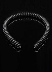 Wechselcollier Steinkette Onyxlinse - Steinbach Goldschmiede