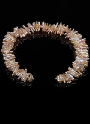 Wechselcollier Perlenketten Rosabiwa