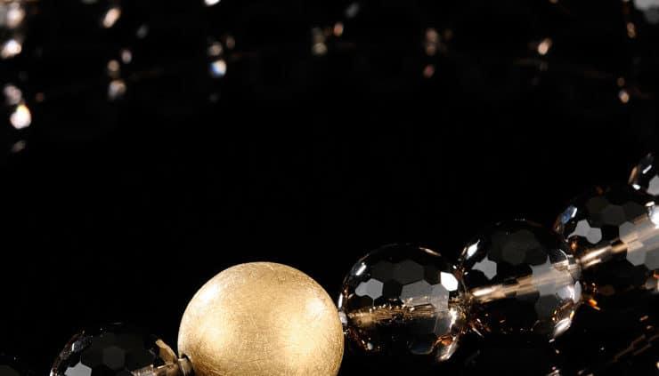 Wechselschliesse Goldkugel