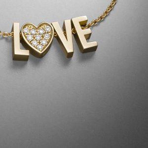 Book of Love - Goldbuchstaben